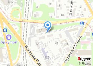 Компания «Копир-техникс» на карте