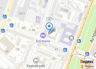 Компания «Руан» на карте