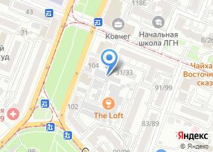 Компания «РСБ» на карте