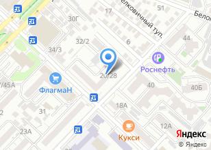 Компания «Стройконструкции» на карте