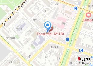 Компания «Военный госпиталь» на карте