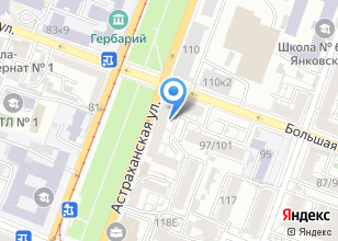 Компания «Ракова №1» на карте