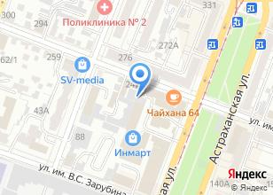 Компания «Югра» на карте