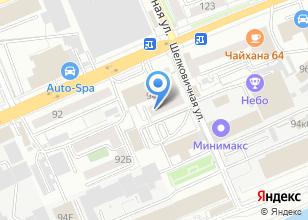 Компания «Фолдинг» на карте