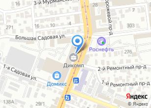 Компания «Финпром-Дата» на карте