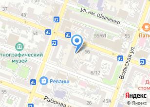 Компания «Клифорт» на карте