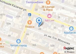 Компания «Фонд содействия развитию венчурных инвестиций в малые предприятия в научно-технической сфере Саратовской области» на карте