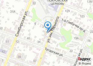 Компания «Волгопромвентиляция» на карте