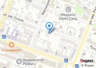 Компания «Катион» на карте