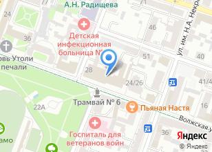 Компания «Берег-СВ» на карте