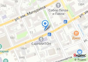 Компания «MORINGA» на карте