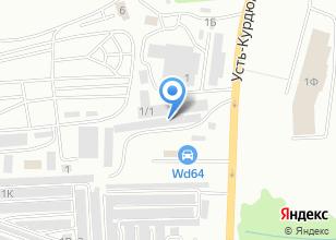 Компания «Авто Фаворит» на карте