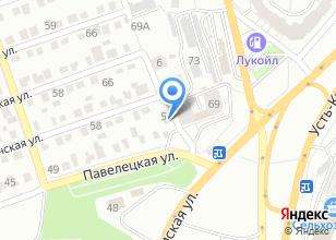 Компания «Приус» на карте