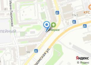 Компания «Керамик Сити» на карте