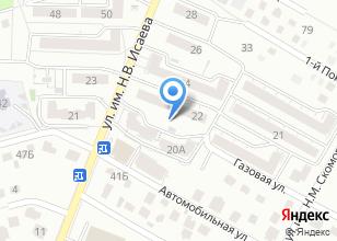 Компания «Астера» на карте
