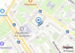 Компания «Салон-парикмахерская» на карте