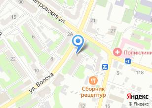 Компания «Этея» на карте