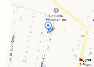 Компания «Администрация с. Сабуровка» на карте