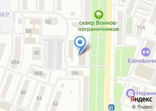 Компания «Группа Станки» на карте