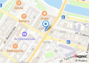 Компания «Каспийский институт дополнительного образования Т.Н. Прохоровой» на карте