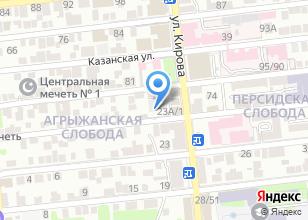 Компания «Мастер & К» на карте
