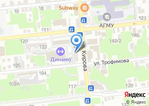 Компания «Астраханский Региональный Центр Проектирования» на карте