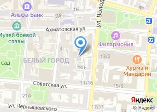 Компания «ТЭК-Лизинг» на карте