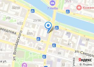 Компания «Магазин текстиля и тканей» на карте