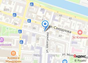 Компания «Сбербанк Лизинг» на карте