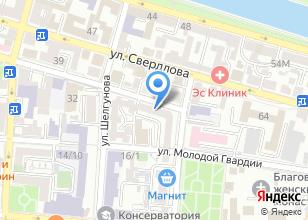 Компания «Уголовно-исполнительная инспекция УФСИН России по Астраханской области» на карте