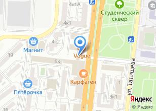 Компания «Агентство курсовых» на карте