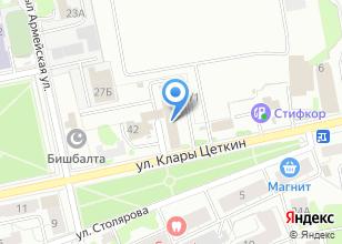 Компания «Мирал» на карте