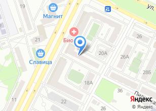 Компания «Оранжевый галстук» на карте