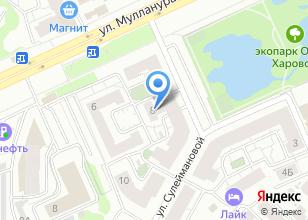 Компания «КРАСНЫЙ КВАДРАТ» на карте