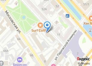 Компания «Одус» на карте