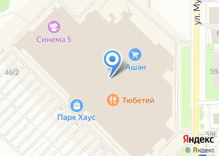 Компания «Fresh group» на карте
