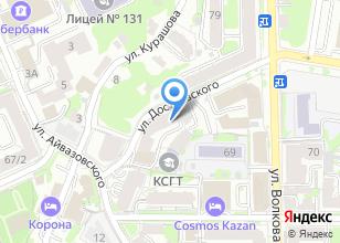 Компания «Казанский социально-гуманитарный техникум» на карте