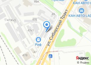 Компания «Авангард-спецодежда» на карте