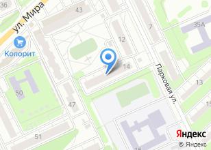 Компания «Детская школа искусств №9» на карте