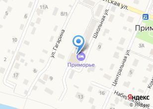 Компания «Приморский» на карте