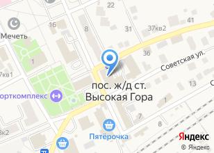Компания «Таттелеком» на карте
