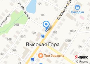 Компания «Бистро на Большой Красной» на карте