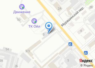 Компания «Автошанс 43» на карте