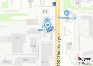 Компания «ТЕХНОАВИА» на карте