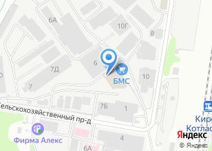 Компания «Motaki.ru» на карте