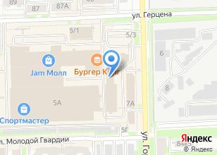 Компания «Ясное» на карте