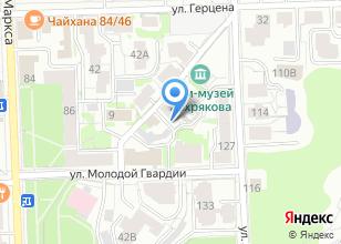 Компания «Советская перчаточная фабрика» на карте