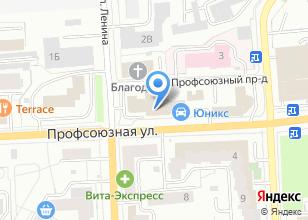 Компания «Служба заказа легкового транспорта» на карте