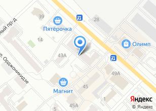 Компания «Сакура» на карте