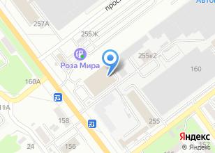 Компания «Антанта» на карте